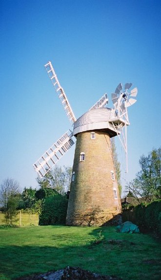 Stock, Essex - Image: Stock mill