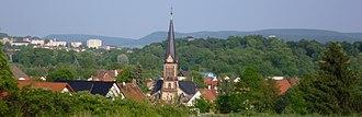 Sondershausen - look over the town, Stockhausen