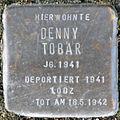 Stumbling block for Denny Tobar (Bobstrasse 2)