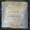 Stumbling block for a Sinteza (Bobstrasse 4/6)