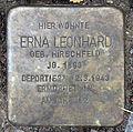 Stolperstein Alte Allee 17 (Westend) Erna Leonhard.jpg