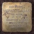 Stolperstein Dortmunder Str 13 (Moabi) Margarete Almus.jpg