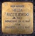 Stolperstein Friedrichshaller Str 28 (Schma) Helga Radziejewski.jpg