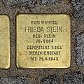 Stolperstein Günthersburgalle 43 Frieda Stein.jpg