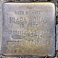 Stolperstein Mainzer Str 16 (Wilmd) Klara Jonas.jpg