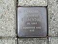 Stolperstein Norbert Blumenthal, 1, Heessener Dorfstraße 35, Heessen, Hamm.jpg