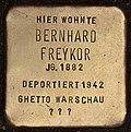 Stolperstein für Bernhard Freykor (Cottbus).jpg