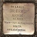 Stolperstein für Dr. Armin Fried.JPG