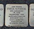 Stolperstein für Frieda Nussberg, Barbarossastraße 55, Chemnitz.JPG