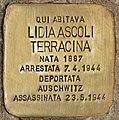 Stolperstein für Lidia Ascoli Terracina (Rom).jpg
