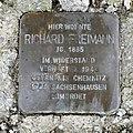 Stolperstein für Richard Freimann, Pleissaer Straße 25, Limbach-Oberfrohna.JPG