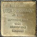 Stolpersteine Köln. Rosa Sussmann (Lütticher Straße 16).jpg