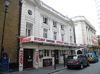 Stomp (theatrical show) - Stomp at the Ambassadors Theatre, West Street, London, July 2016.