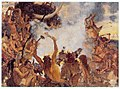 Stone Age - feast, study (1883, Vasnetsov, GTG).jpg