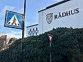 Stord rådhus, Leirvik, Norway 2018-03-06 kommunevåpen IMG 5652.jpg