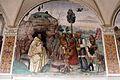 Storie di s. benedetto, 07 sodoma - Come Benedetto ammaestra nella santa dottrina i contadini che lo visitavano 01.JPG
