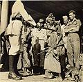 Street children with monkeys and American GIs in Calcutta in 1945.jpg