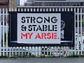 Strong and Stable sign in Shoreditch, London (cropped).jpg