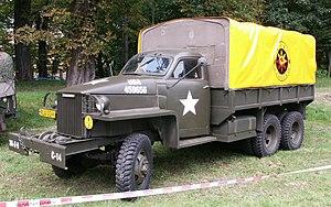 Studebaker US6 2½-ton 6x6 truck - Studebaker US6 U4 Cargo truck