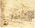 Study of a Palm Tree (recto); Mountain Landscape (verso) MET Cat86.jpg