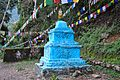Stupa near the Khecheopalri lake 01.jpg
