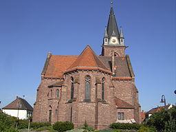 Stutensee Staffort evang Kirche