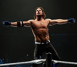 A.J. Styles nell'aprile 2016