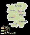 Subcarpathian Voivodeship - dębicki county gminas.png
