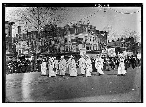 Suffrage Parade LOC 2594706891