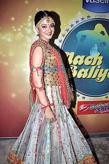 Suhasi Goradia Dhami on the sets of Nach Baliye 5