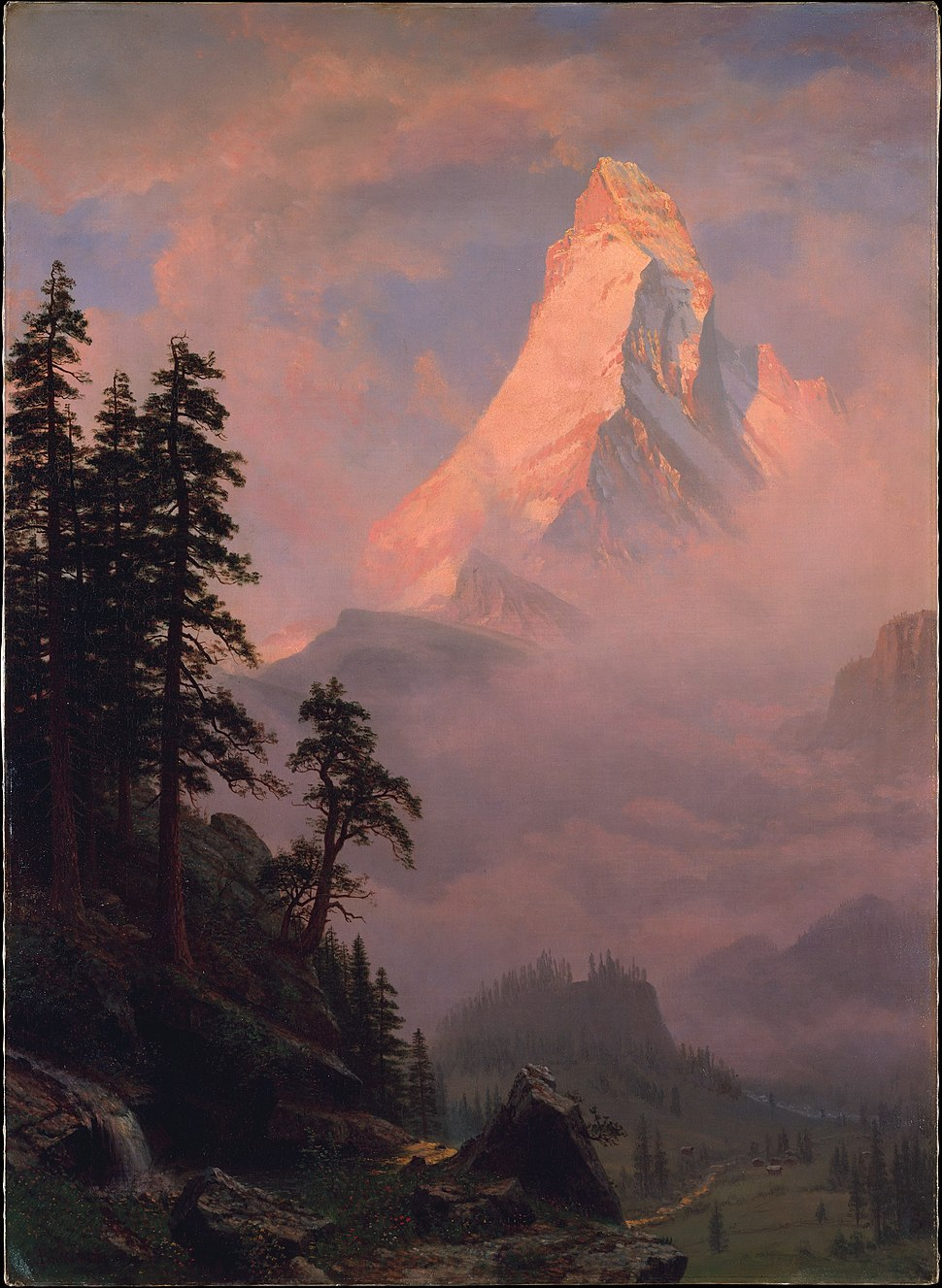 Sunrise on the Matterhorn MET DT218107
