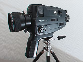 Super 8 film - Bauer A512 Super 8 camera