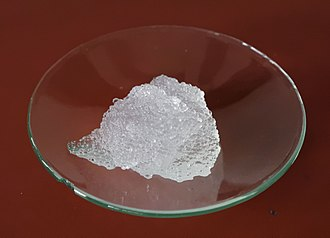 Gel - Hydrogel of a superabsorbent polymer