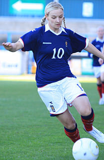 Suzanne Grant Scottish footballer