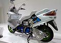 Suzuki Burgman Fuel Cell cutaway model 2011 Tokyo Motor Show.jpg