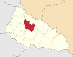 Location of Svaļavas rajons