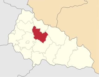 Svaliava Raion Raion in Zakarpattia Oblast, Ukraine