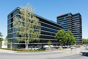 Swiss Broadcasting Corporation - The SRG SSR headquarters in Bern.