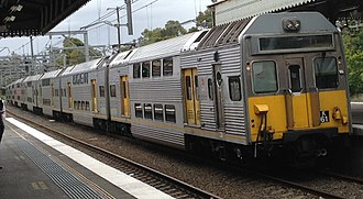 Sydney Trains K set - K61 at Strathfield station