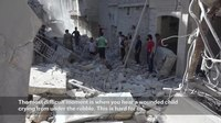 File:Syria- Reaching Hospitals in Besieged Eastern Aleppo has Become a Danger in Itself.webm