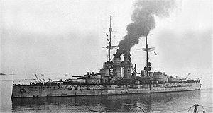 Naval warfare in the Mediterranean during World War I - Image: Szent Istvan