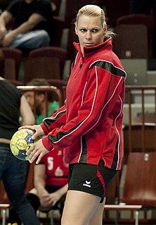 Szilvia Ábrahám Hungarian handball player