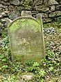Třešť Jüdischer Friedhof - Grabstein 1.jpg