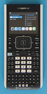 TI-Nspire series series of graphing calculators