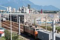 TRA E334 and Asia Cement railway wagons at Hualien Port Station 20161218.jpg
