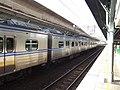 TRA EMU500 at Taichung Station 20141022.jpg
