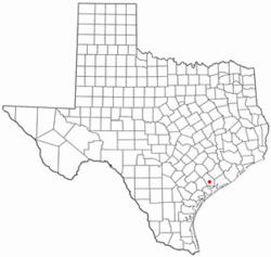 Location of Lolita, Texas