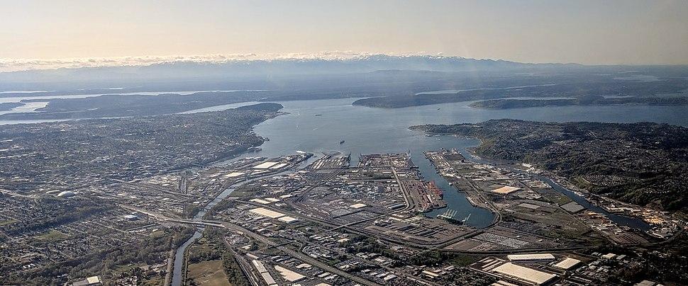 Tacoma WA aerial