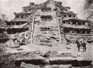 Imaginos - The Mexican pyramid of El Tajín, similar to the construction built around the 'Magna of Illusion'