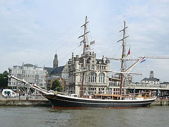 Morgenster (ship) - Image: Tall ships antwerp 2010 Morgenster